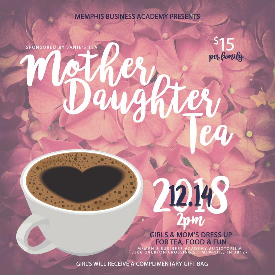 mom daughter tea