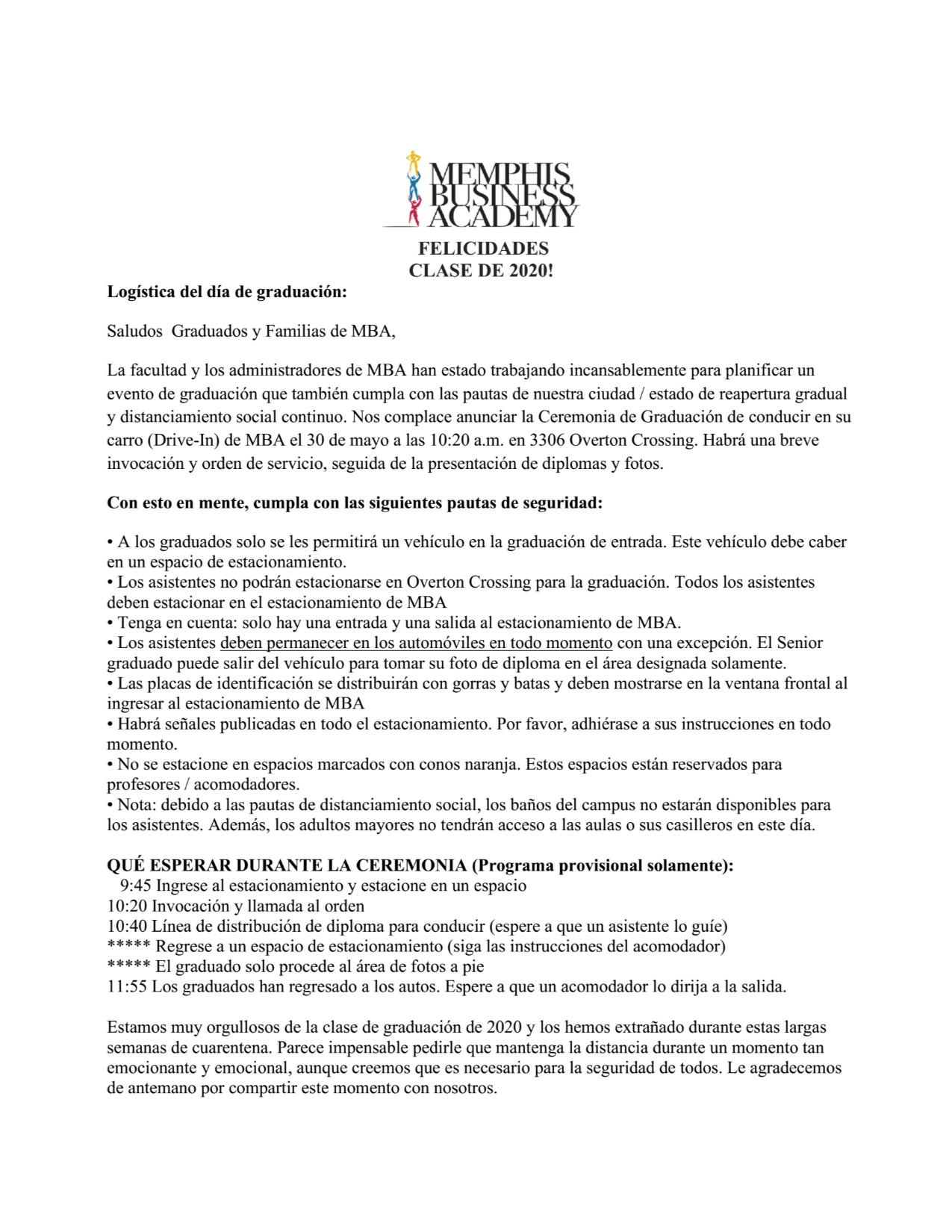 Guidelines Update in SPanish